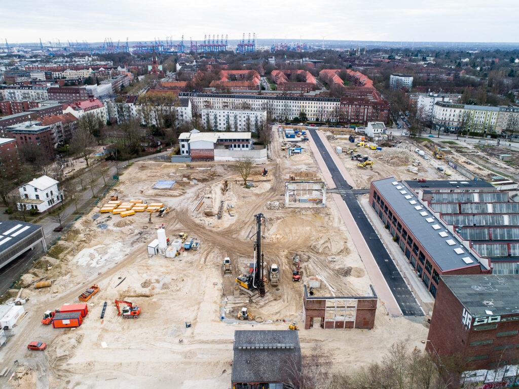 Neubaugebiet Kolbenhöfe, Hamburg
