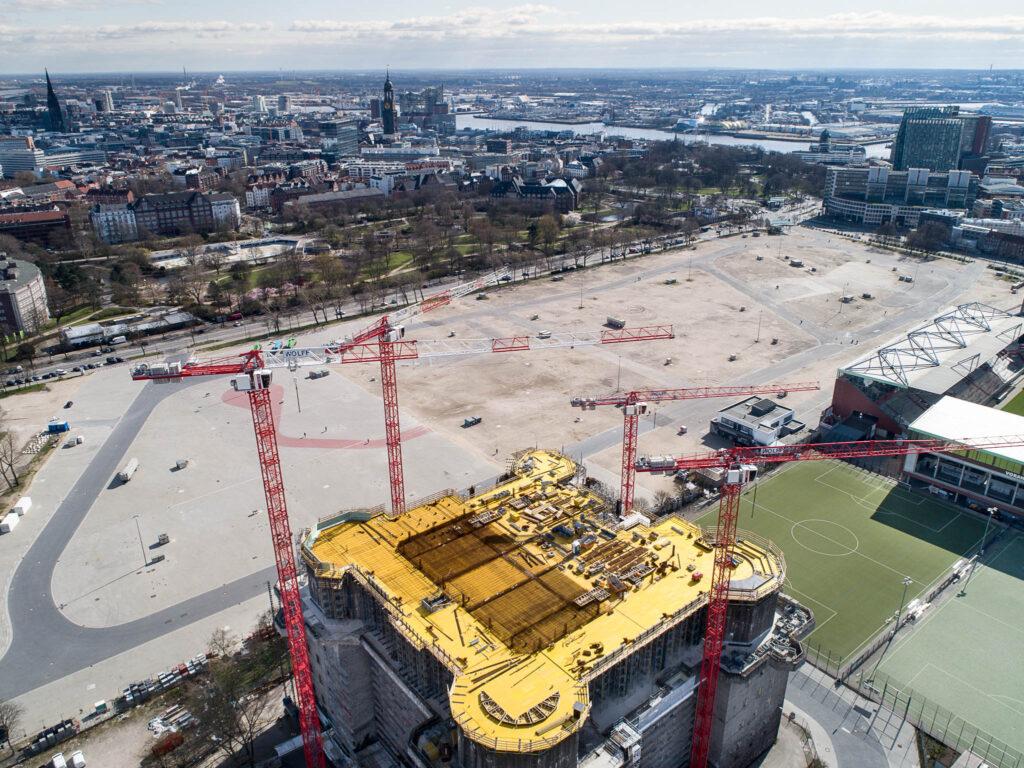 Bauprojekt Bunker Feldstraße, Hamburg