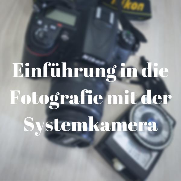 Fotografie mit Spiegelreflex- und Systemkamera in Frankfurt