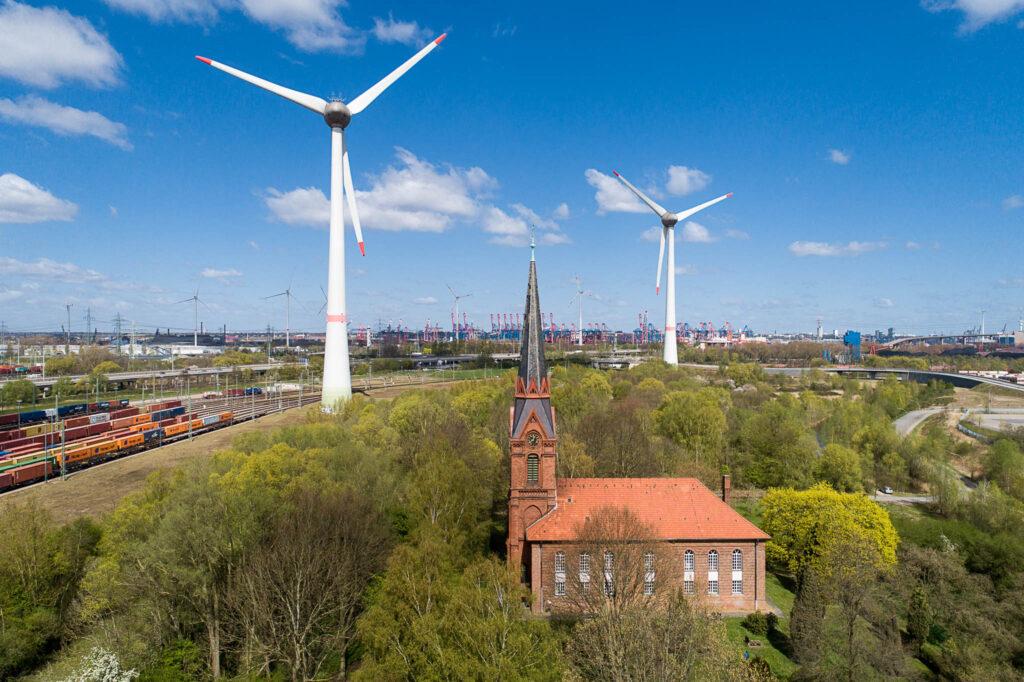 Windenergie Altenwerder, Hamburg
