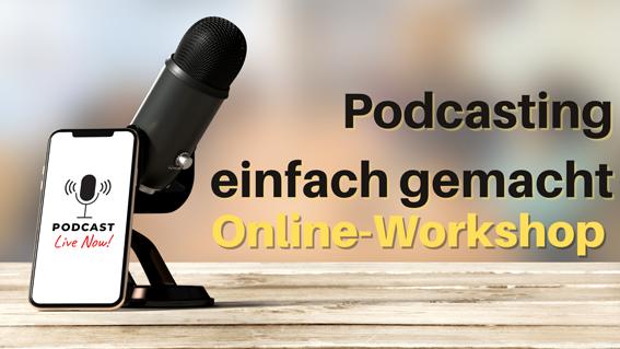 """Online Workshop """"Podcasting einfach gemacht"""""""